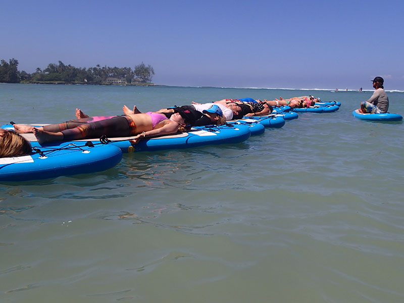 The Floating Studio, SUP Yoga Experience