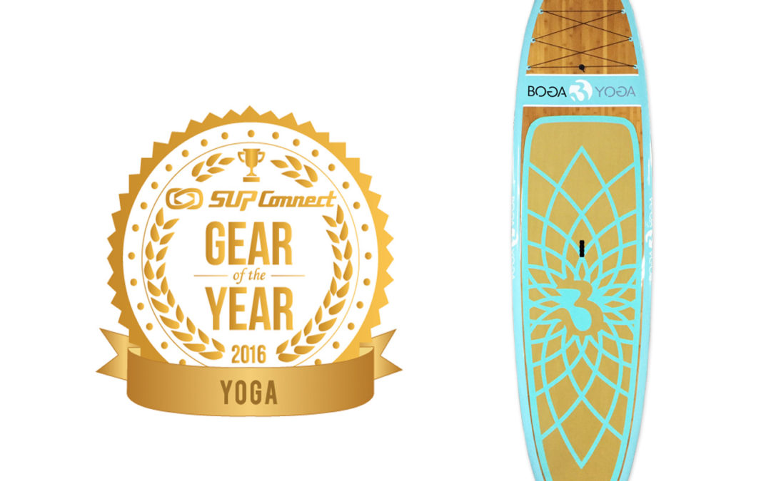 2016 SUP Connect Gear of the Year Winner – BOGA YOGA Bamboo